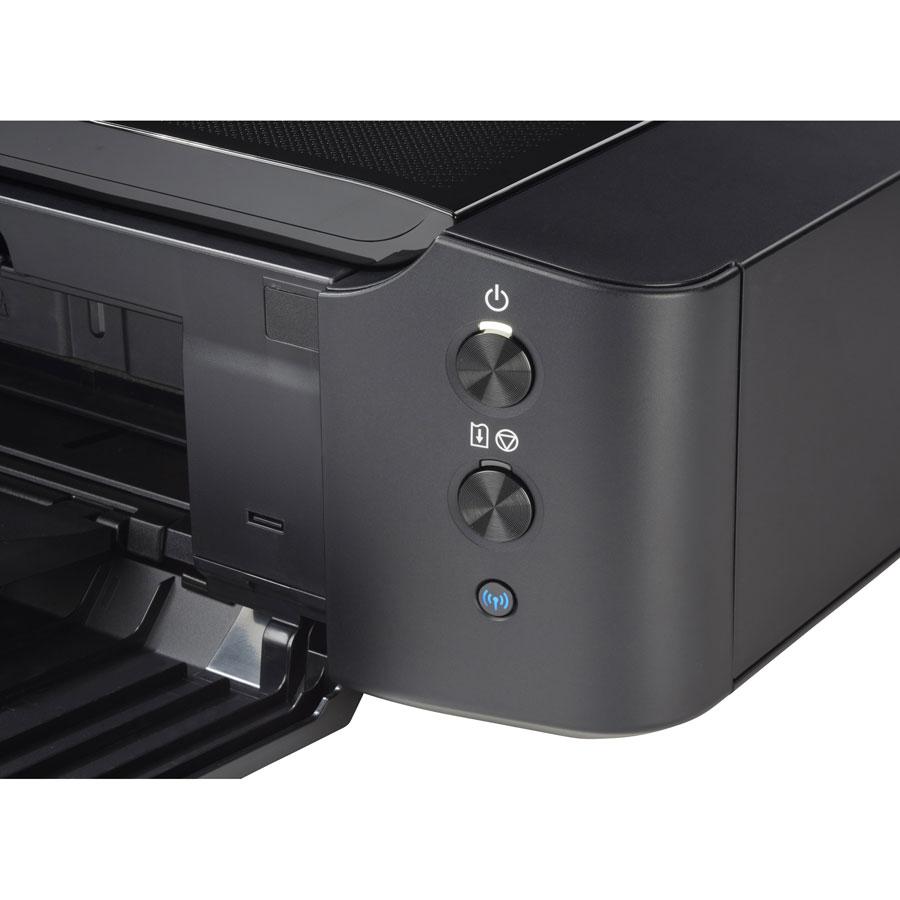 Canon Pixma iP8750 - Bandeau de commandes
