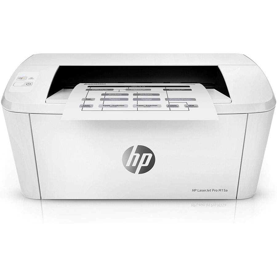 HP Laserjet Pro M15a - Vue de face