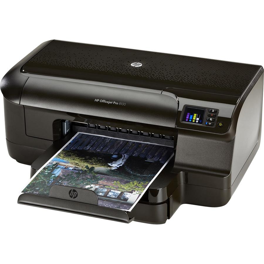HP Officejet Pro 8100 - Vue principale