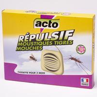 Acto Répulsif moustiques tigres-mouches (cassettes)