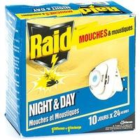 Raid night & day Mouches et moustiques