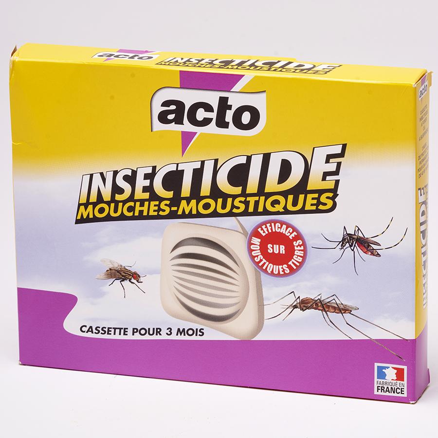 Acto Insecticide mouches-moustiques (cassettes) -