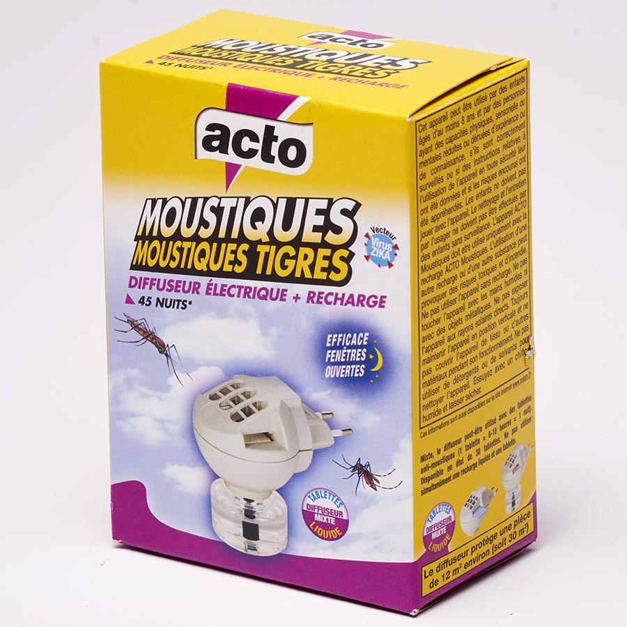 Acto Moustiques-moustiques tigres -