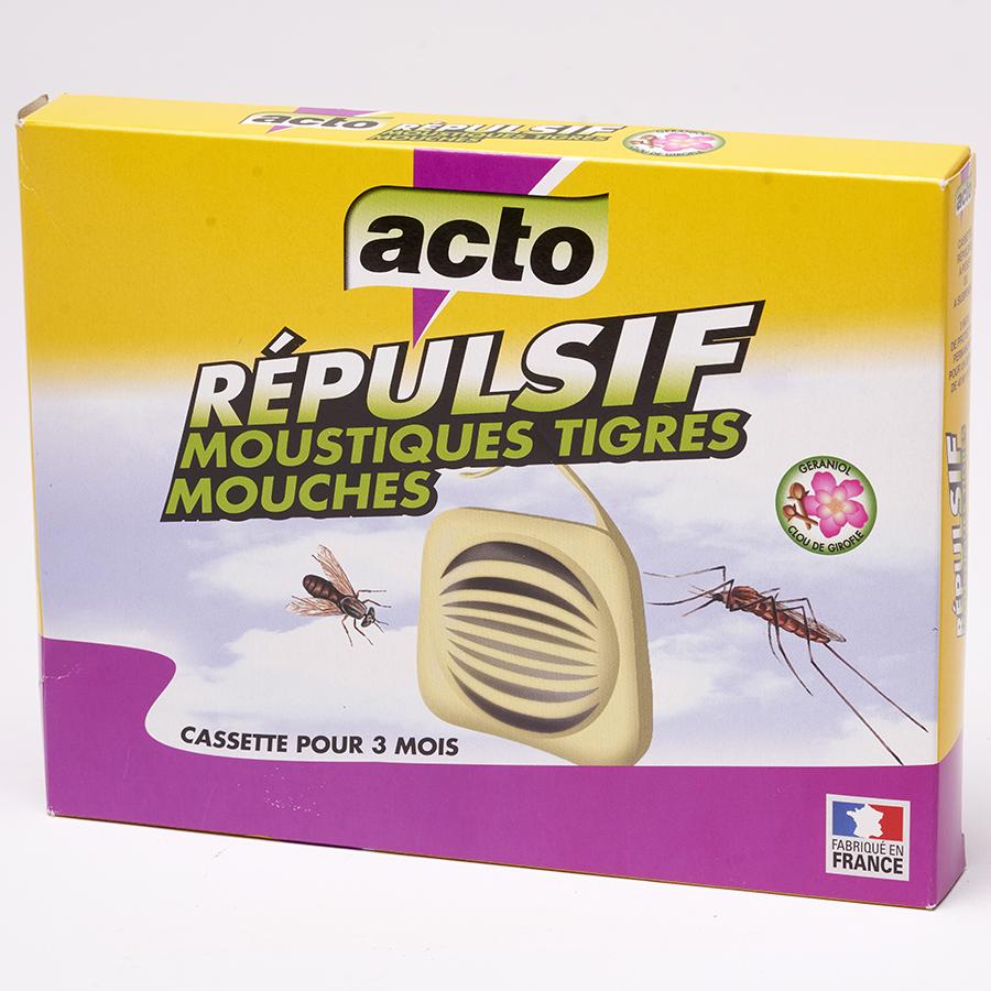 Acto Répulsif moustiques tigres-mouches (cassettes) -