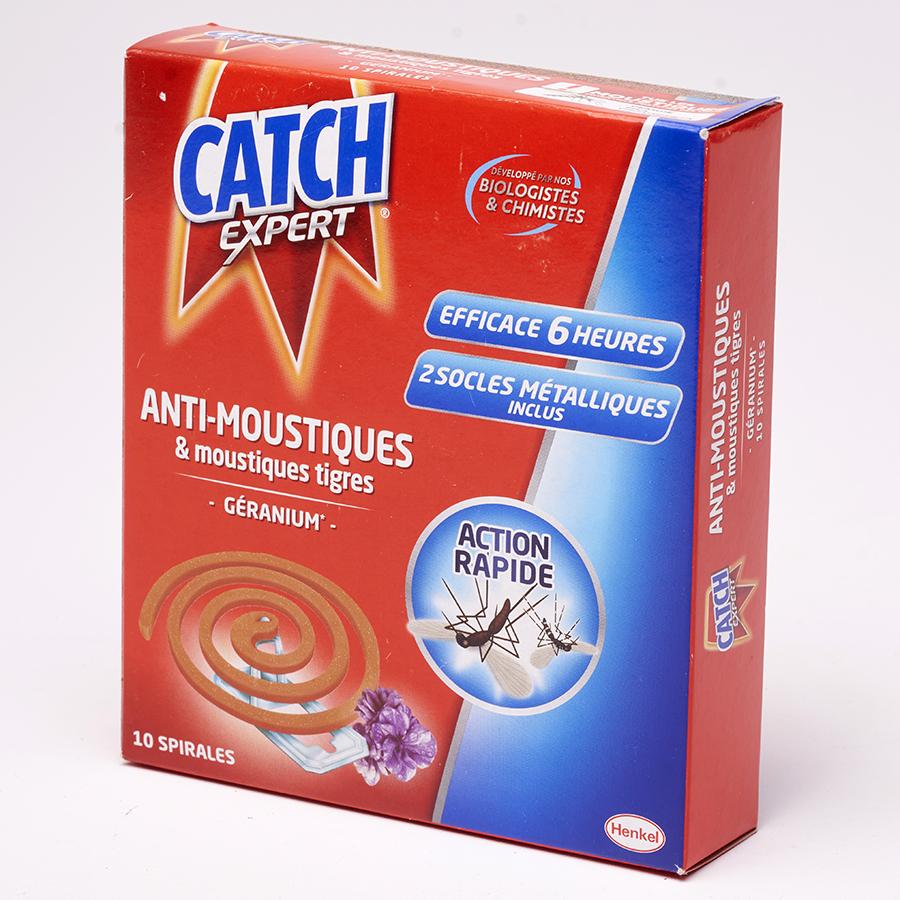 Catch Expert Anti-moustiques & moustiques tigres géranium -