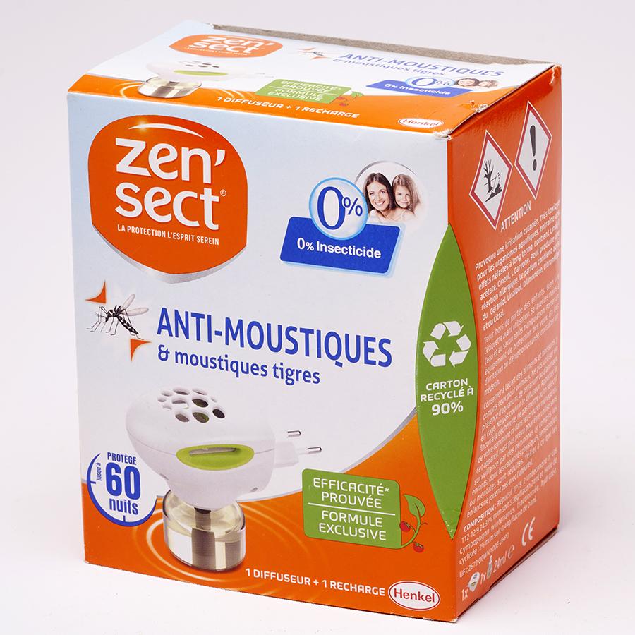 Zen'Sect Anti-moustiques & moustiques tigres 0% insecticides -