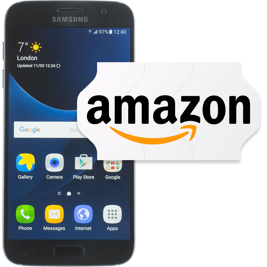 Amazon Samsung Galaxy S7 reconditionné -
