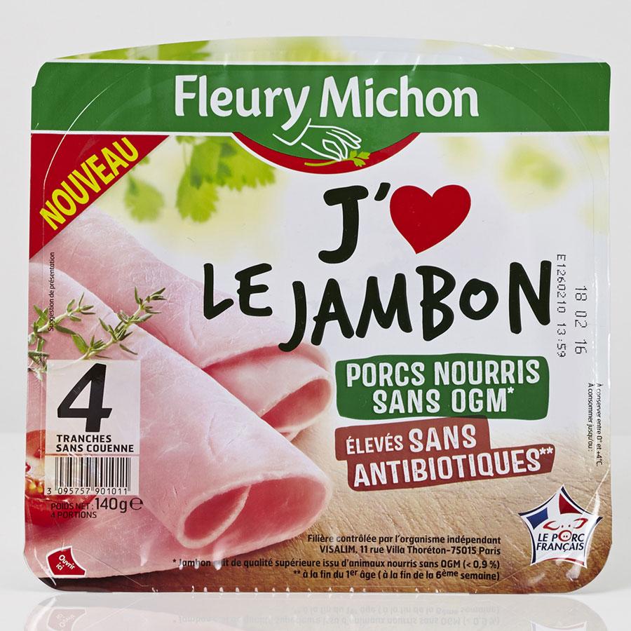 Fleury Michon J'♥ le jambon -