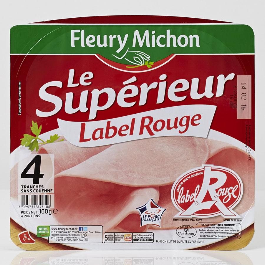 Fleury Michon Le Supérieur Label Rouge -