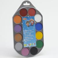 Goodmark Family set, maquillage à l'eau (12 couleurs)