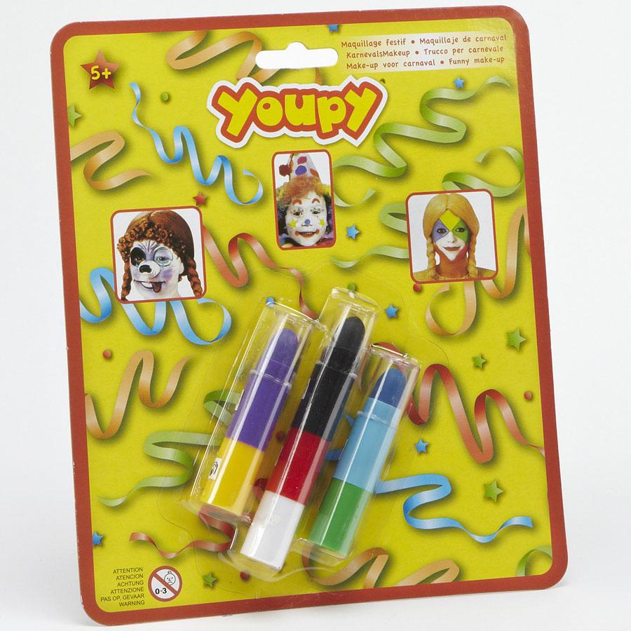 Youpy Maquillage festif (7 couleurs) -