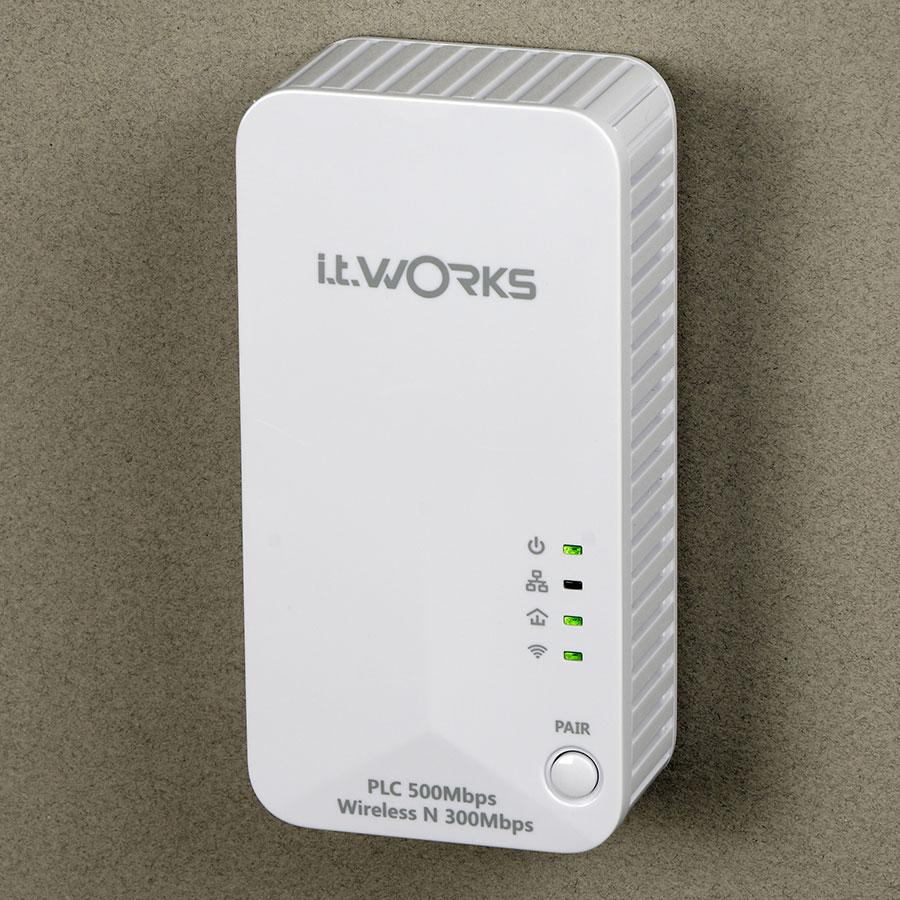 IT Works Kit CPL WIFI 500 MBPS -