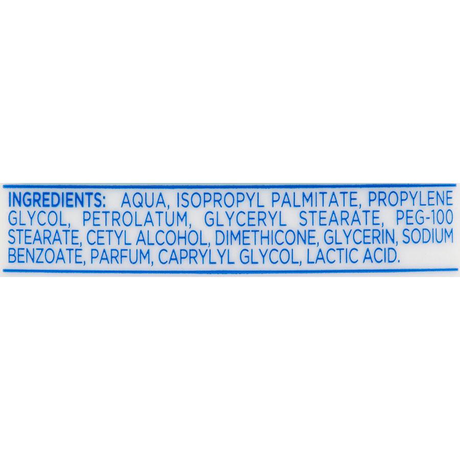 Sanex Lait corps hydratant - Zero % - Liste des ingrédients