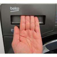 Beko HTV8736XC0M - Ouverture du tiroir à détergents