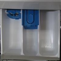Bosch WVH28461FF(*18*) - Sérigraphies identifiant les compartiments à produits.