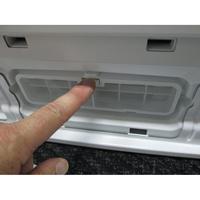 Bosch WVH28461FF(*18*) - Démontage du filtre du condenseur.