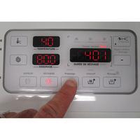 Brandt WTD8284SF - Afficheur et touches d'options