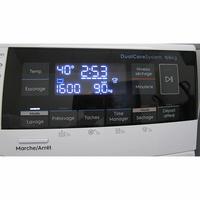 Electrolux EW7W3924SP - Afficheur et touches d'options