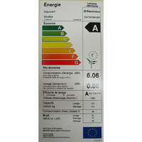 Electrolux EW7W3924SP - Étiquette énergie
