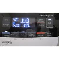 Electrolux EW8W2123RA - Afficheur et touches d'options