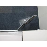 Hisense WDBL1014V - Angle d'ouverture de la porte