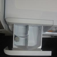 Indesit XWDE861480XW(*5*)(*17*) - Compartiments du bac à produits.