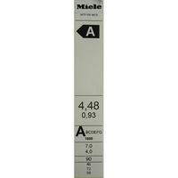 Miele WTF105WCS - Étiquette énergie