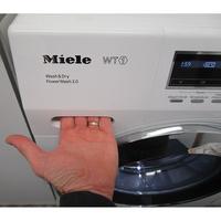 Miele WTF130WPM - Ouverture du tiroir à détergents
