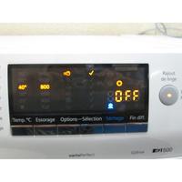 Siemens WD14H462FF(*19*) - Afficheur et touches d'options.