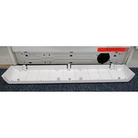 Whirlpool FWDG97168BXFR - Ouverture de la trappe du filtre de vidange