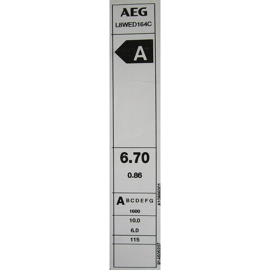 AEG L8WED164C(*12*) - Étiquette énergie