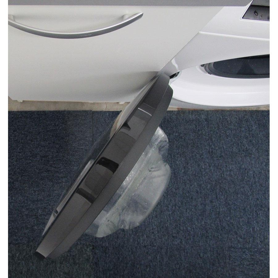 Bosch WDU28560FF - Angle d'ouverture de la porte