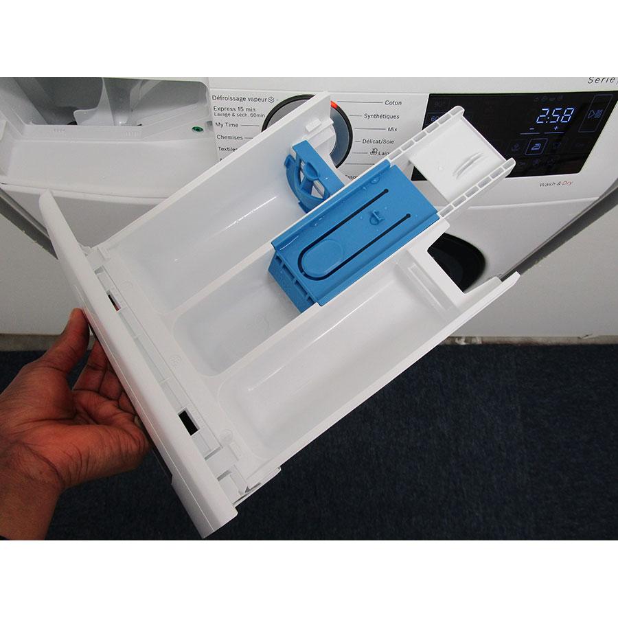 Bosch WDU28560FF - Retrait du bac à produit