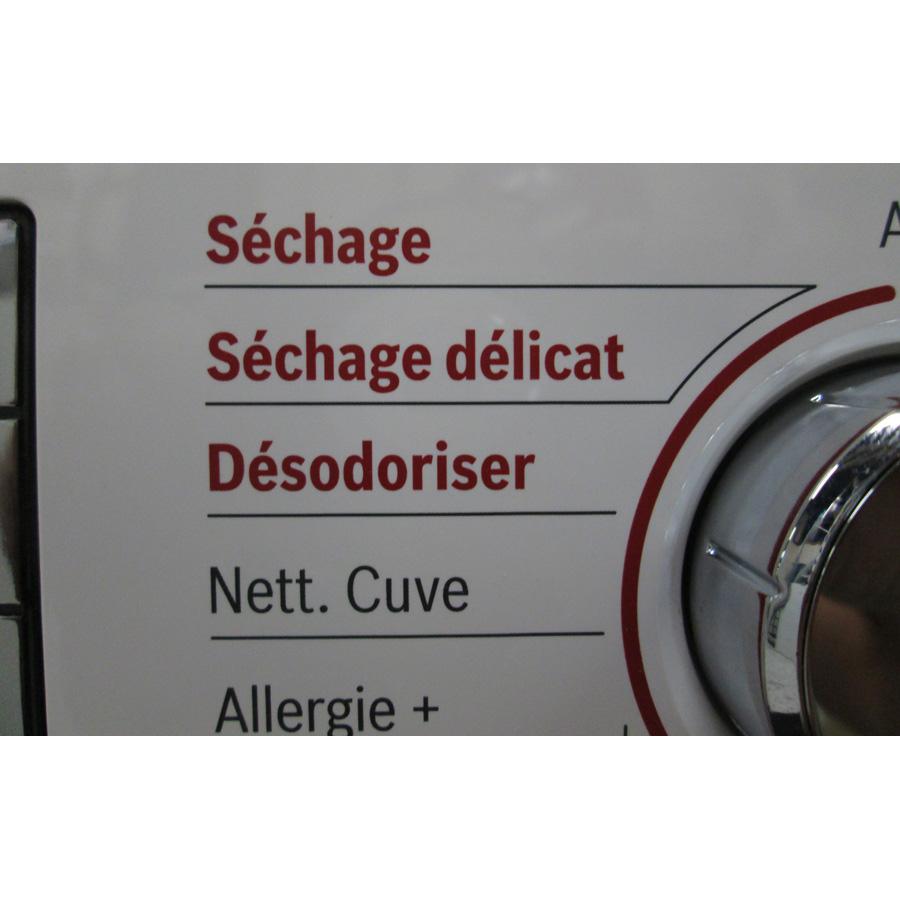Bosch WVH28461FF(*18*) - Sélection du séchage.