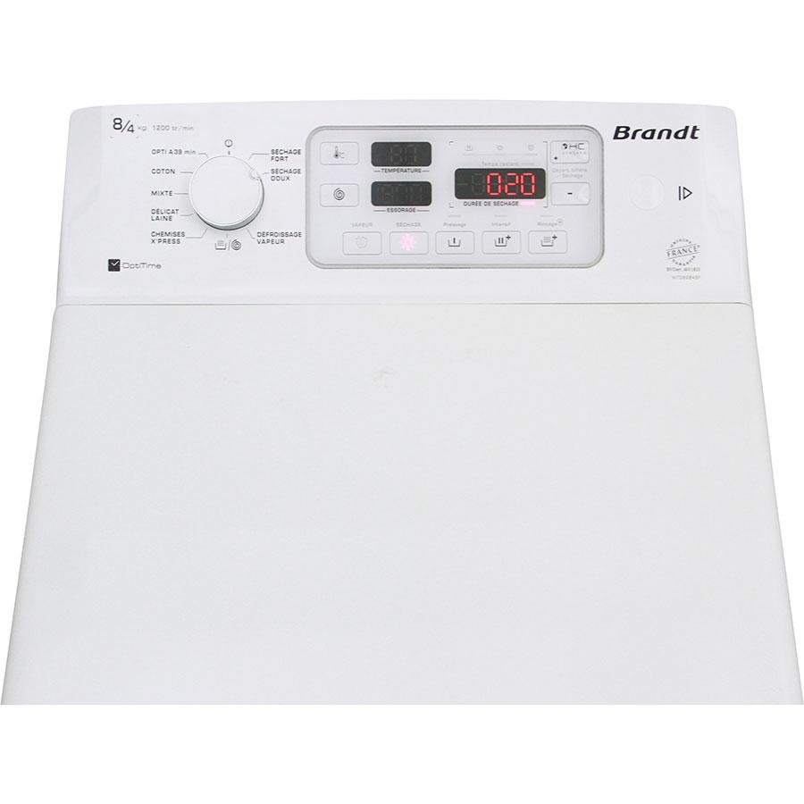 Brandt WTD8284SF - Bandeau de commandes