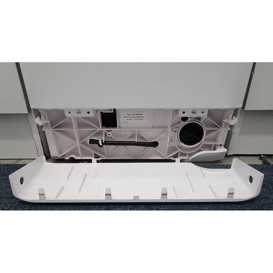 Brandt WTD8284SF - Bouchon du filtre de vidange