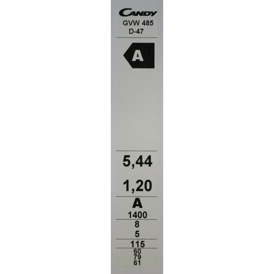 Candy GVW485D(*6*)(*17*) - Etiquette énergie.