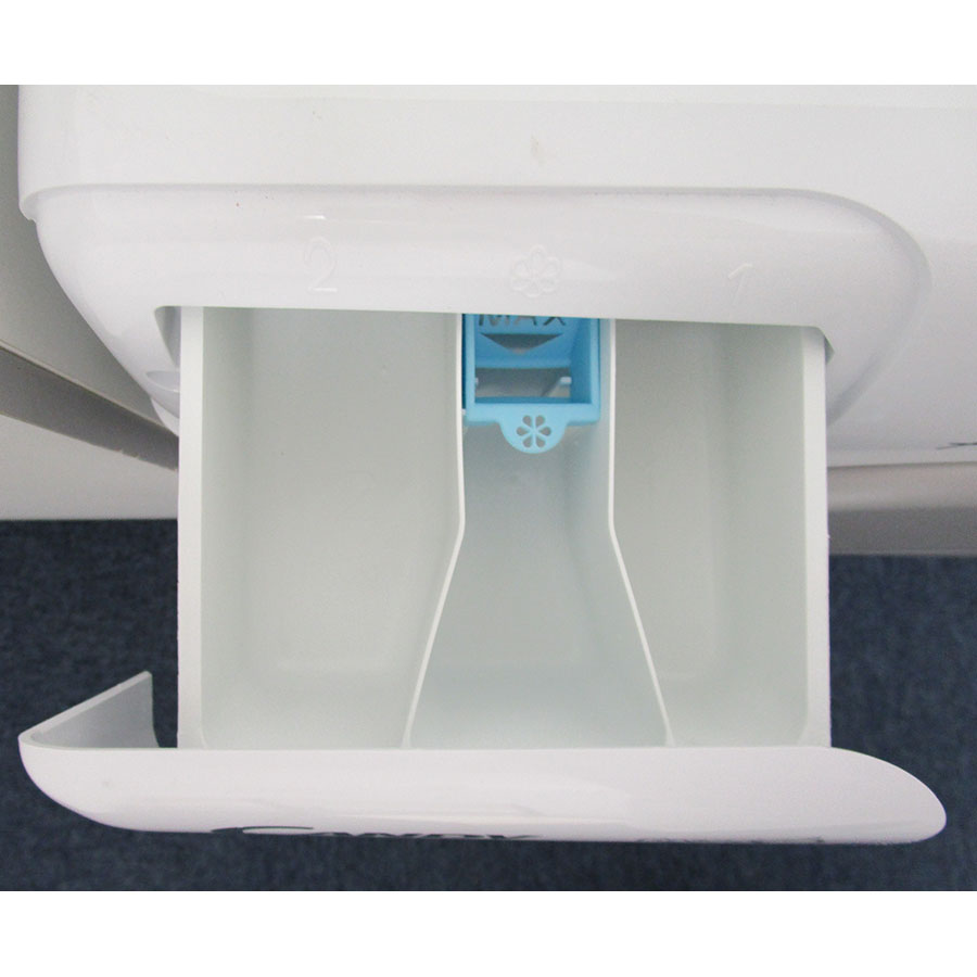 Candy HGSW485DSW/1-S - Compartiments à produits lessiviels
