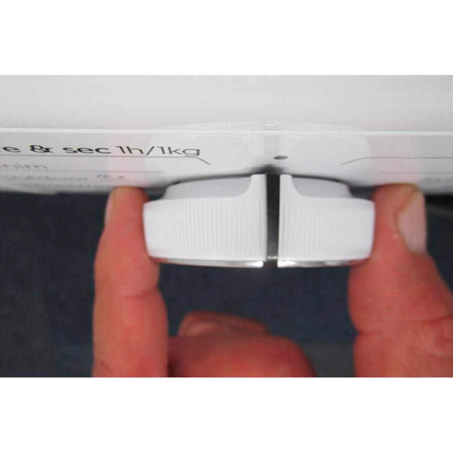 Electrolux EW7W3924SP - Visibilité du sélecteur de programme