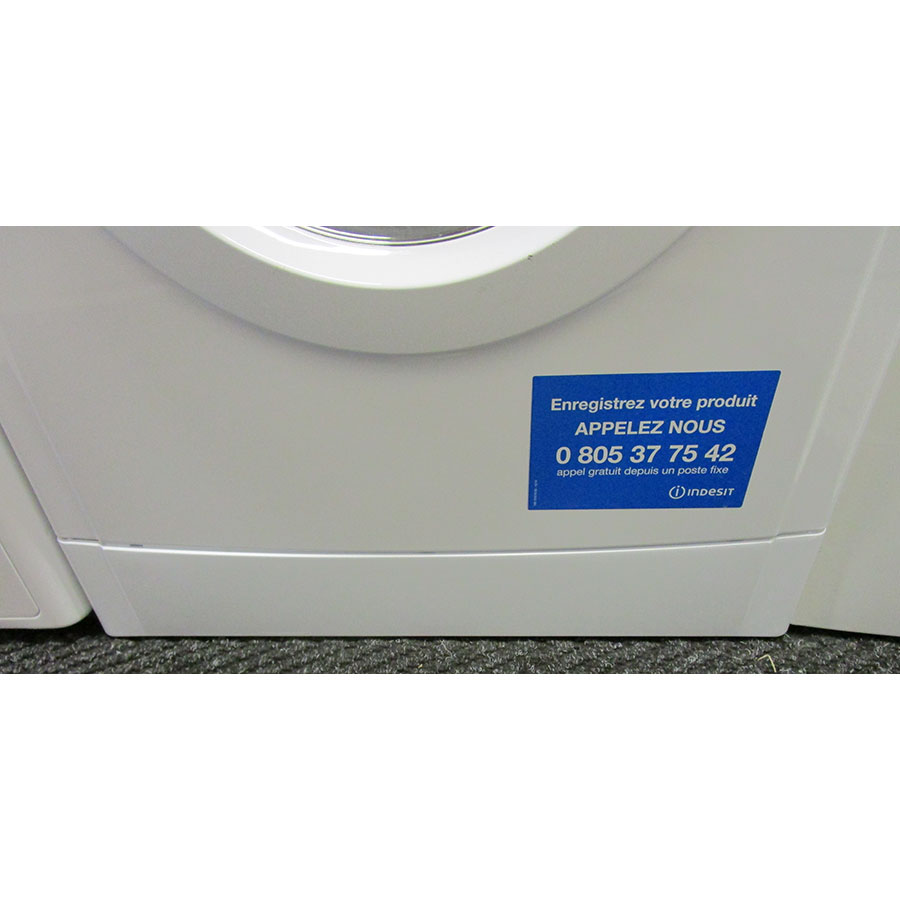 Indesit EWDC6145W FR(*17*) - Plinthe masquant le filtre de vidange
