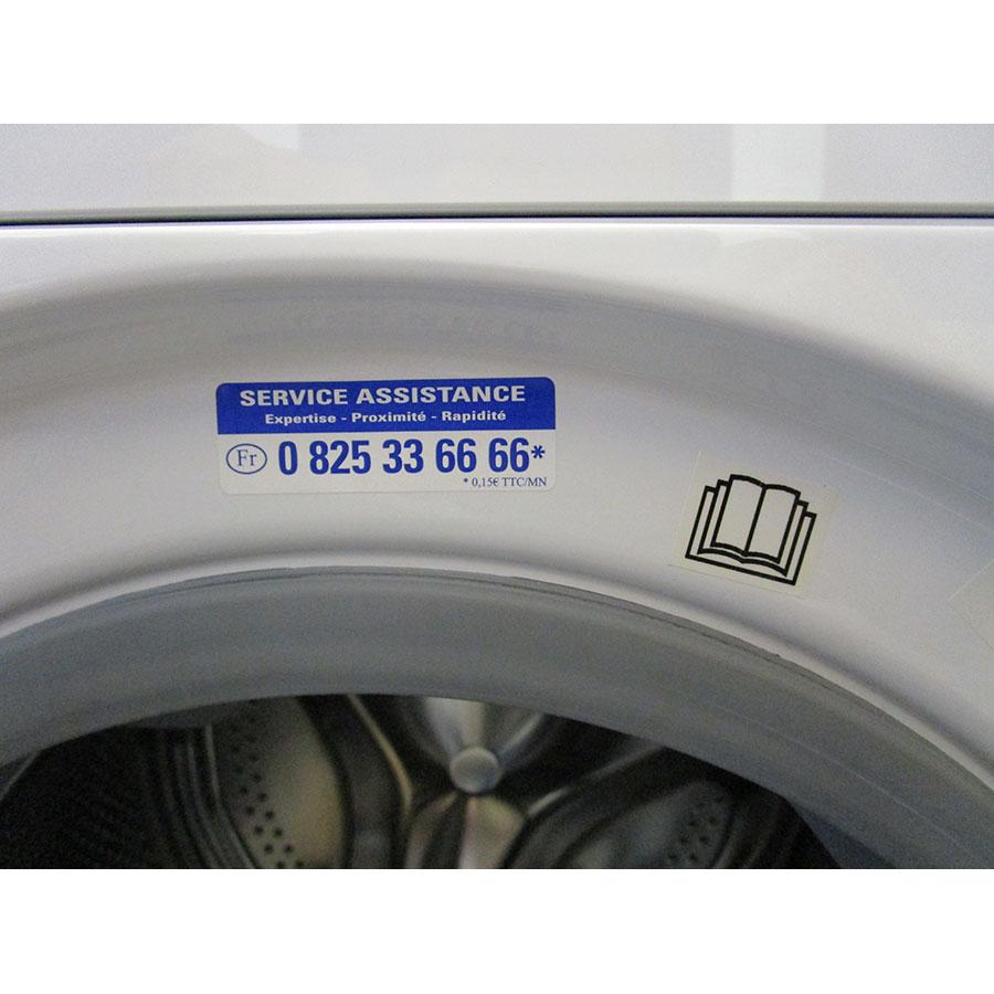Indesit XWDA751480XWFR.1(*17*) - Autocollant service consommateurs