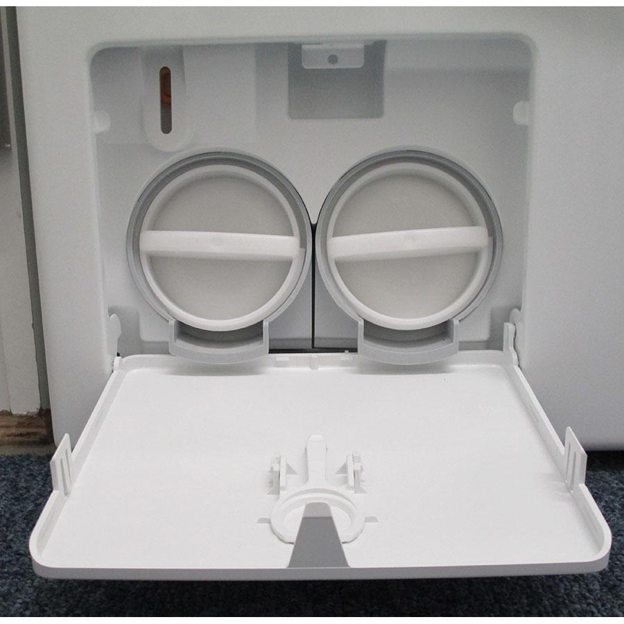 Miele WTF105WCS - Bouchon du filtre de vidange