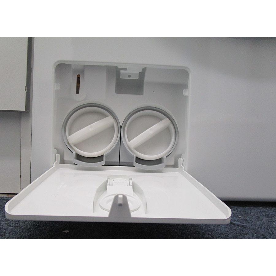 Miele WTF130WPM - Bouchon du filtre de vidange