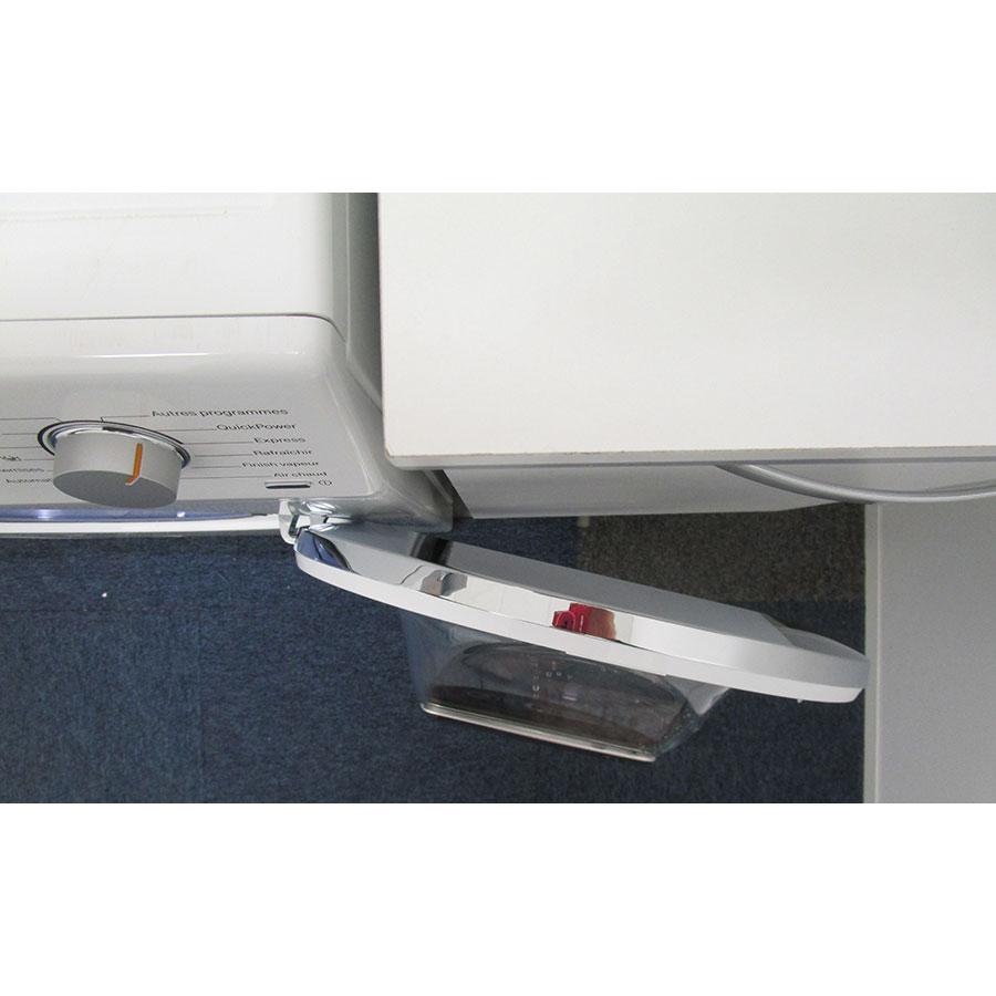 Miele WTF130WPM - Angle d'ouverture de la porte