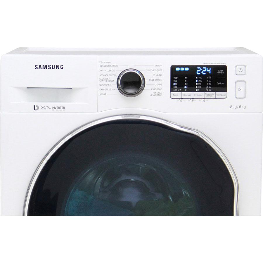 Samsung WD80J5430AW - Bandeau de commandes
