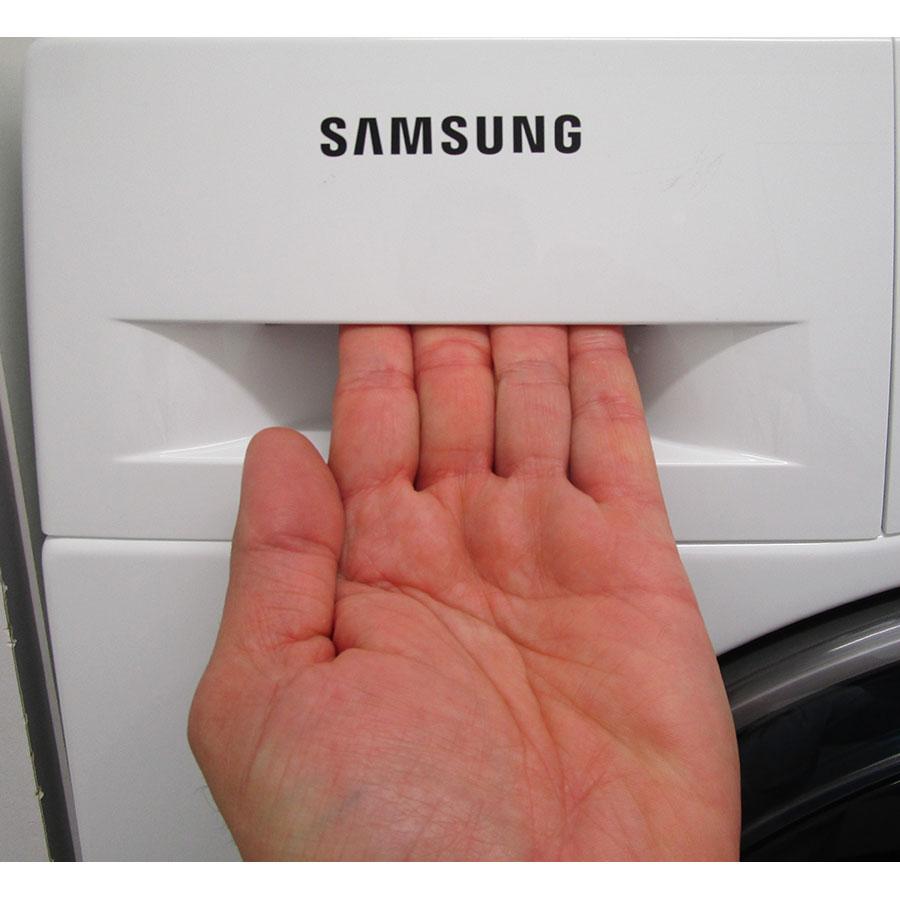 Samsung WD80K5B10OW - Ouverture du tiroir à détergents
