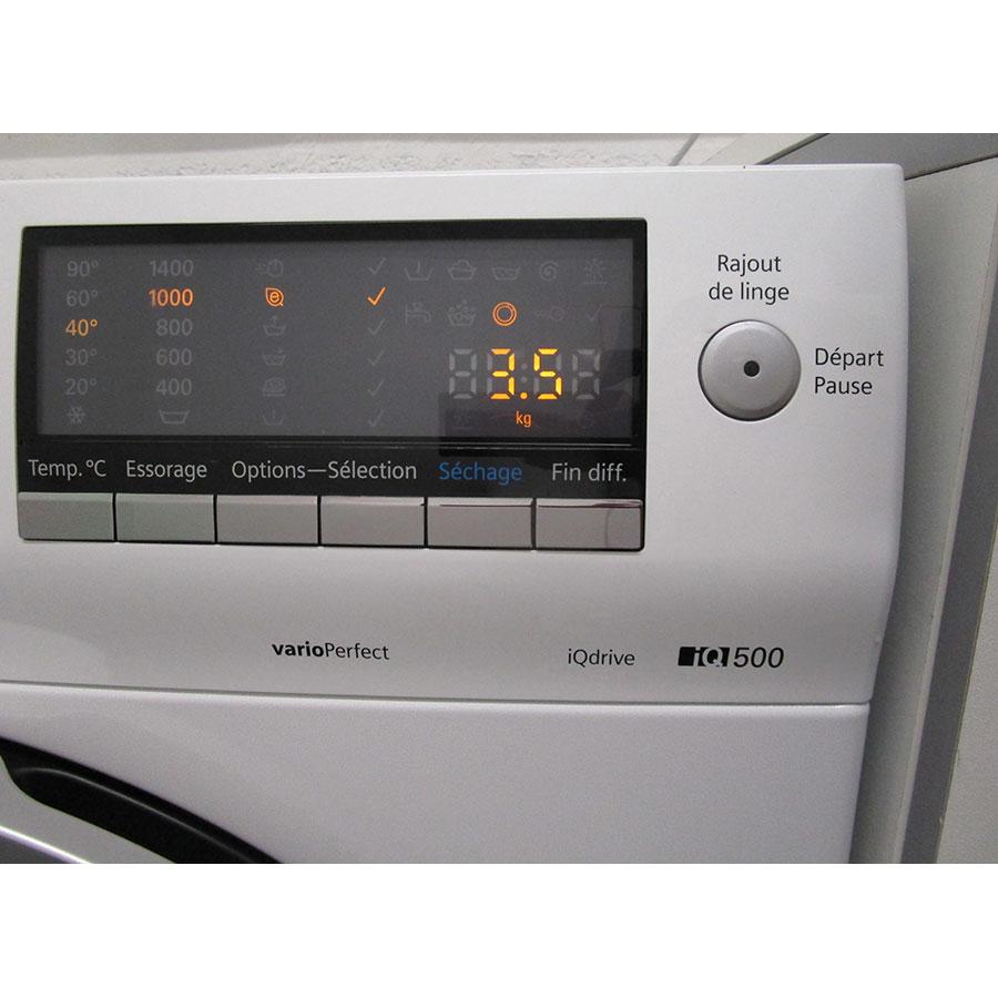 Siemens WD14H464FF - Afficheur et touches d'options