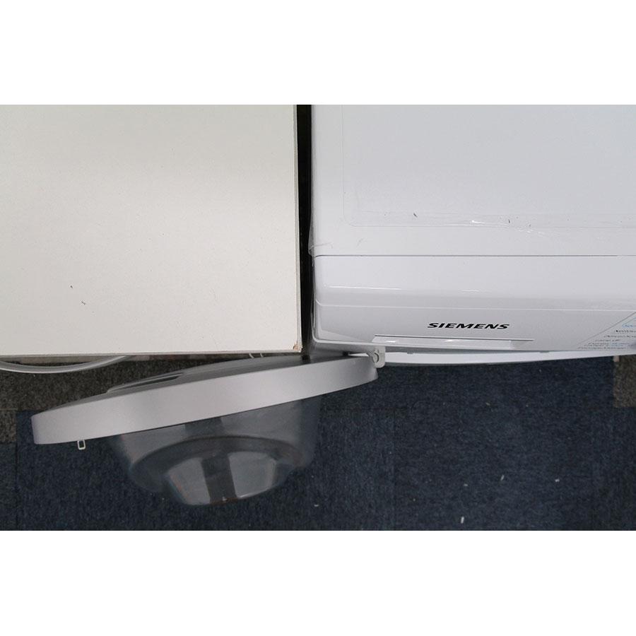 Siemens WD15G462FF - Angle d'ouverture de la porte