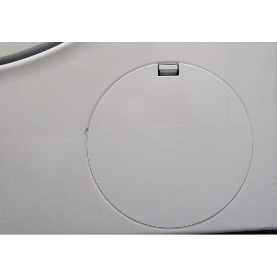 Siemens WD4HU560FF - Trappe du filtre de vidange