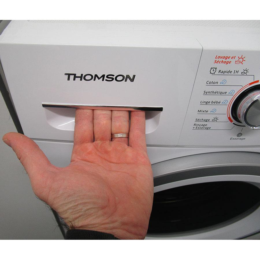 Thomson THWD16107(*12*) - Ouverture du tiroir à détergents